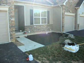 Front/Back New Landscape Install - Whitehall, PA